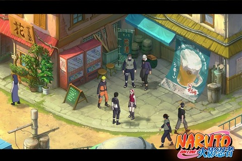 Naruto Online - La version occidentale de Naruto Online est officiellement lancée