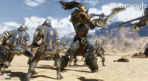 WolfKnights Online - G-Star 2013 - WolfKnights Online illustre son gameplay et s'annonce en anglais