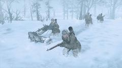 Pris dans la neige