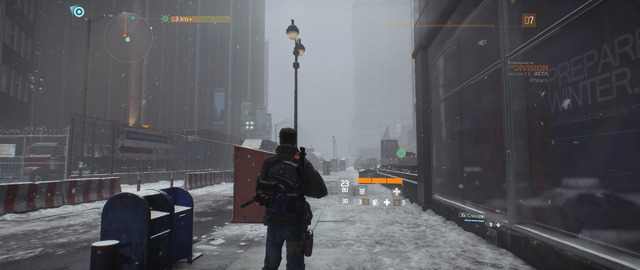 The Division (Bêta) - Neige (1)