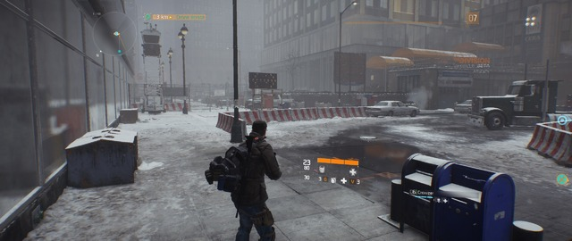 The Division (Bêta) - Neige (2)