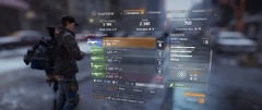 The Division (Bêta) - Inventaire - armes