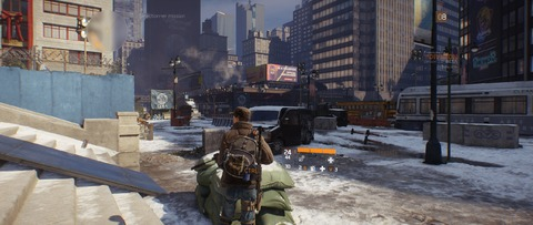 The Division - The Division affine le fonctionnement de sa Dark Zone