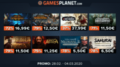 Promo Gamesplanet : les licences DOOM à -71% et Total War à -80%