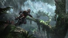 Course dans la jungle