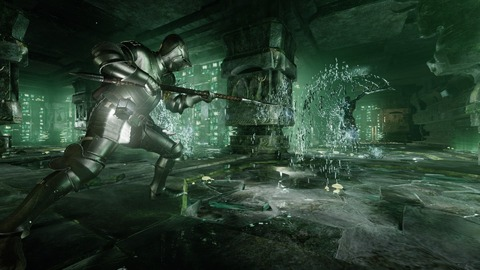 Deep Down - Deep Down illustre son « donjon vert »