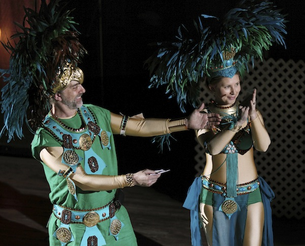 Richard et Laetitia Garriott : fête annuelle 2012