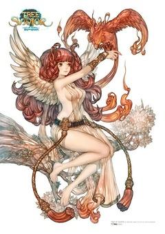 Gabiya, déesse du feu