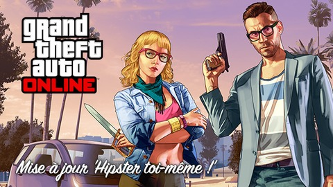 Grand Theft Auto Online - La mode hipster débarque sur Grand Theft Auto Online