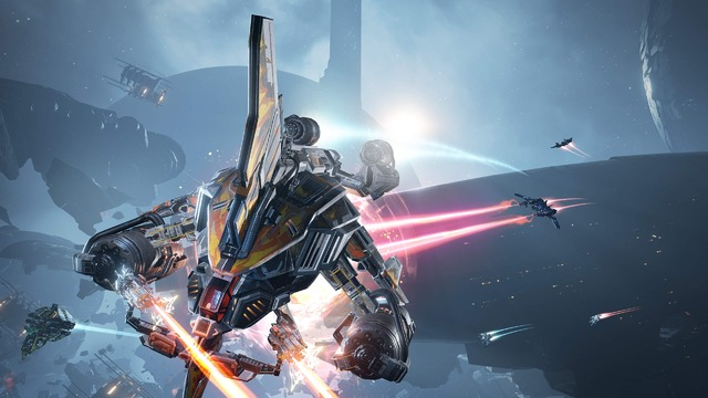 Images d'EVE Valkyrie