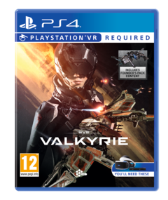 EVE Valkyrie également en magasin, distribué par Sony
