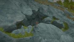 Entrée de caverne
