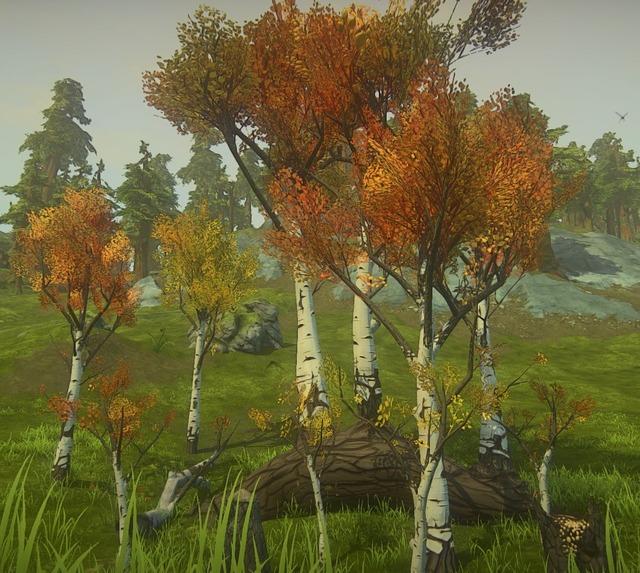 Nouveaux arbres de Landmark