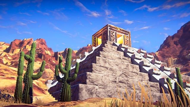 Pyramide dans le désert