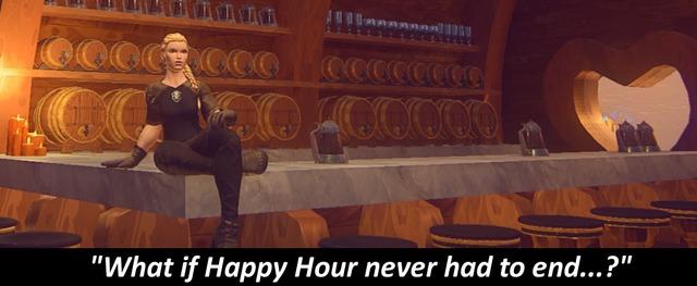 Et si sur Landmark, l'Happy Hour n'avait pas de fin... ?