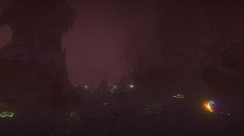 Nouvelle caverne souterraine de Landmark