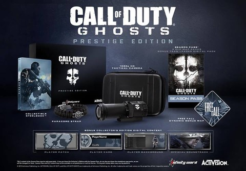 Activision Blizzard - PGW 2013 - Le line-up Activision et distributions gratuites de Call of Duty : Ghosts