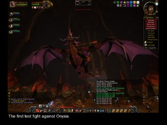 Premier assaut contre Onyxia dans World of Warcraft