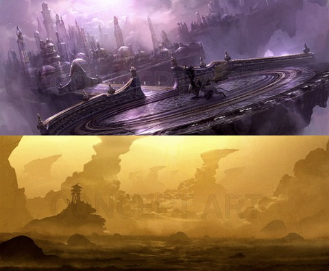 Décor du film Warcraft