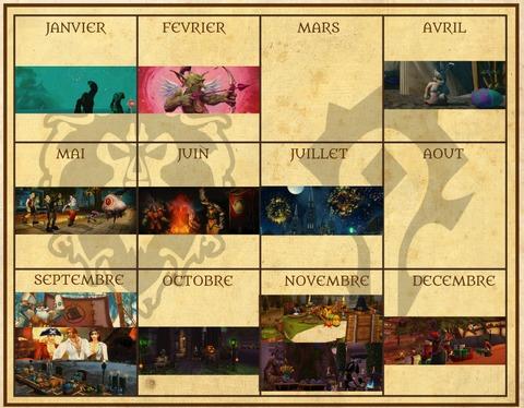 calendrier event