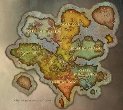 Carte de Draenor