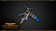 Le chasseur d'attaque de SWTOR: Galactic Starfighter