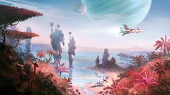 No Man's Sky s'illustre par des images conceptuelles