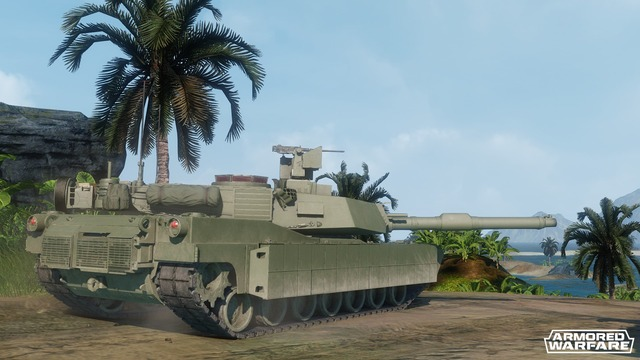 Armored Warfare - Tier9 - Abrams M1A2 001
