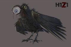Halloween : corbeau zombie