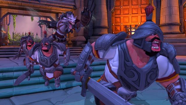 Capture d'écran officielle d'Orcs Must Die! Unchained