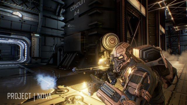 Capture d'écran de Project Nova