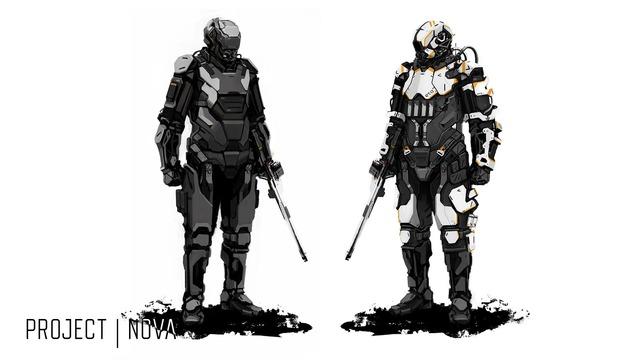 Image conceptuelle de Project Nova