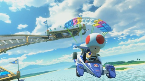 Mario Kart 8 Deluxe Toad Sunshine Airport 3
