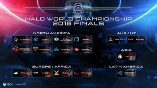 Halo Word Championship - Phases de groupe