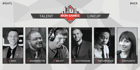 Iron Games HCS Atlanta Cast
