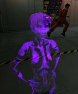 Cortana, l'IA avancée stockée dans l'armure MJOLNIR Mark V de John-117
