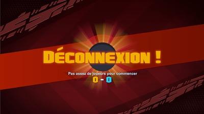 Déconnexion