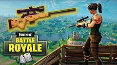 Un mode « sniper » temporaire pour Fortnite: Battle Royale