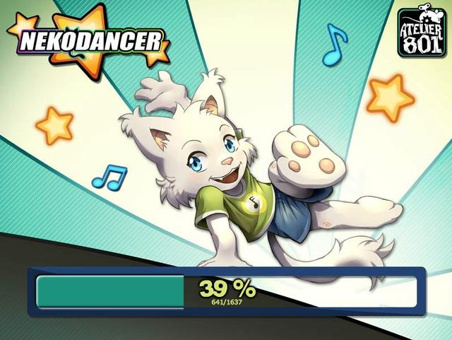 Screenshot Loader Nekodancer