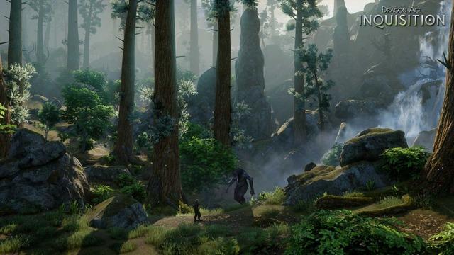 Capture officielle de Dragon Age Inquisition - Géant des Forêts