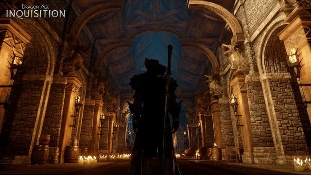 Capture officielle de Dragon Age Inquisition - La Chantrie