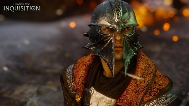 Capture officielle de Dragon Age Inquisition - L'Inquisiteur