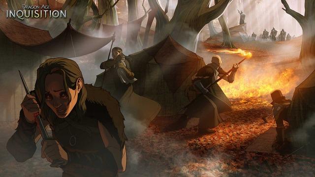 Image conceptuelle de Dragon Age Inquisition