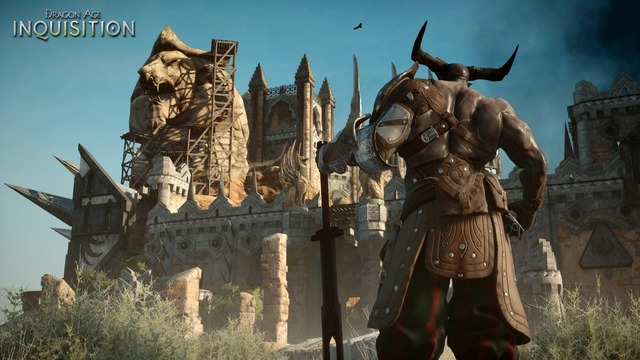 Capture officielle de Dragon Age Inquisition - Iron Bull