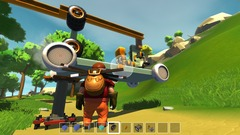 La survie par la fabrication d'engins dans l'univers sandbox de Scrap Mechanic