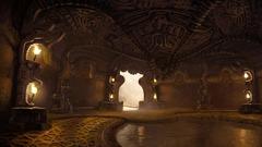 Les Secrets de l'Épine Dorsale du Dragon - Boss room