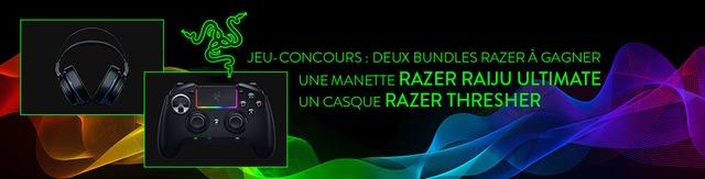 Concours : des bundles PS4 « manette Raiju Ultimate / casque Thresher » de Razer à gagner
