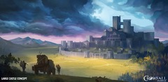Crowfall illustre ses forteresses