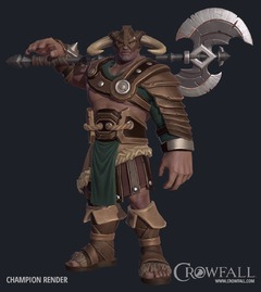 Premier apercu : les pouvoirs du Champion de Crowfall et son interface