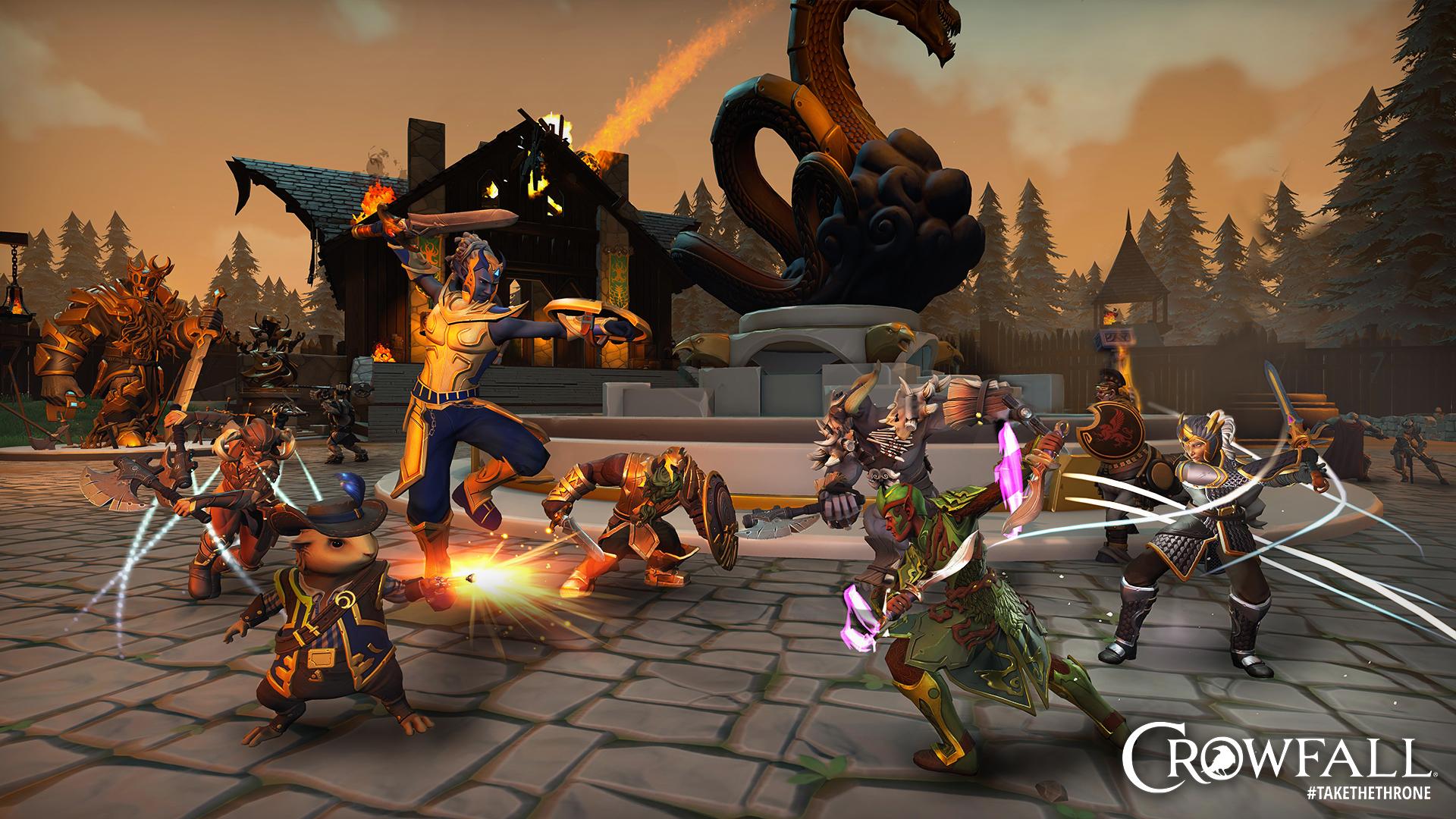 Crowfall - La bêta du MMORPG Crowfall sera finalement lancée le 11 août -  JeuxOnLine